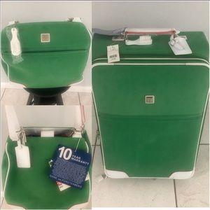 Diane Von Furstenberg pack suitcase an bag